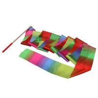 Lovoski Dance Ribbons Streamers Rhythmic Gymnastics Dancing Ribbon Wands