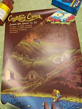 Counting Crows Limited Edition Hand Signed 2014Tour Poster Full Band Midwest Ed
