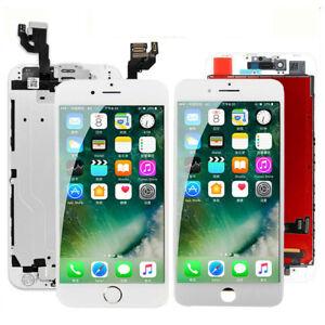 Für iPhone 5 6 6S 7 8 Display LCD mit RETINA VORMONTIERT Komplett Front Weiss