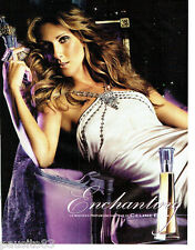 PUBLICITE ADVERTISING 066  2006  Enchanting  le nouveau parfum Céline Dion 2