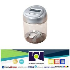 Digital Coin Bank DCB-10 Automatic Money Counting Jar Saving Piggy Bank