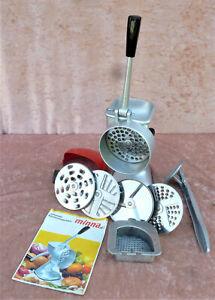 Minna M3 Universal-Küchenmaschine mit 5 Scheiben, Saftpresse