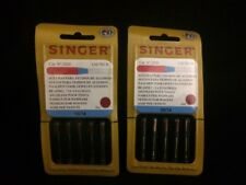 10 NEW IN PACKAGE SINGER 2020 HOME SEWING MACHINE NEEDLES SIZE #14/90 WOVENS 804