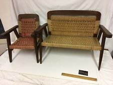 Mid Century Danish Miniature Childrens Chairs - Bespoke Quality RARE !!
