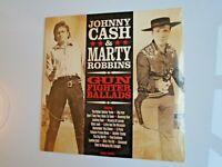 JOHNNY CASH/MARTY ROBBINS Gun Fighter Ballads UK LP new mint sealed 180g 2021