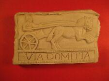 Réplique bas-relief - Via Domitia Narbonne Imitation marbre - 10 x 6 x 1,5 cm