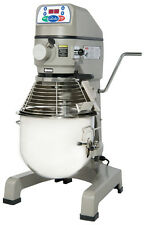 Globe Sp25 25 Qt Planetary Mixer Commercial 3 Speed with Timer 3/4 Hp