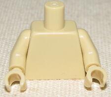 LEGO NEW MINIFIGURE TORSO PLAIN TAN GIRL BOY STAR WARS BODY PIECE