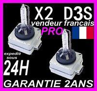2 AMPOULE XENON D3S 35W KIT HID pour LAMPE FEU PHARE D ORIGINE PHILIPS OSRAM 42v