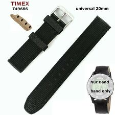 Timex Replacement Band T49686 Expedition Digital Compass Original - 20mm Spare
