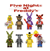 Five Nights At Freddy's Video Game FNAF Mini Action Figures Toys Building Blocks