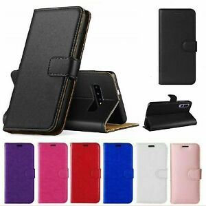 For Samsung Galaxy S8 S9 S20 Plus S7 Edge Case Cover Leather Wallet Book Phone