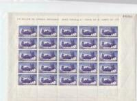 Spain 1960  Rounding up Bull mint never hinged stamps sheet   R19993