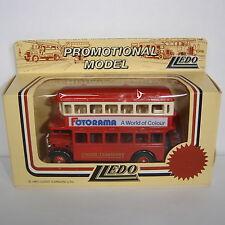 Lledo: Promotional Model : 1932 AEC Regent Double Deck Bus : FOTORAMA : LP15006B