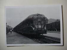 TUN11 - 1960s SNCF A VOIE ETROITE - TUNIS RAILWAY - TRAIN PHOTO Tunisia