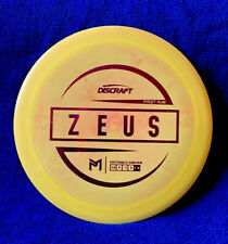 Discraft Paul McBeth First Run Esp Zeus 173-174g