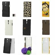 Hard-Shell Case for Sony Ericsson Xperia Arc HD Leopard Glitter