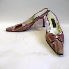 Saatchi mère de la mariée Cour Chaussures-Rose poudré-taille 38-Made in Italy