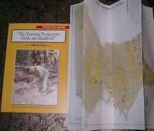 Latest 2015 Victorian PROSPECTOR'S GUIDE Gold Locations Victoria + Bonus map