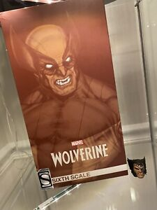 Sideshow Collectibles X Men Wolverine Brown Suit 1/6 (Exclu Version) + Extra