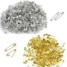 Safety Pins Silver or Gold 19mm - 54mm