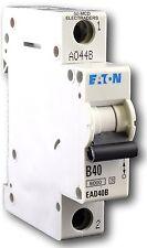 EATON MEM CONSUMER UNIT SP MCB CIRCUIT BREAKER EAD40B 40A 40 AMP