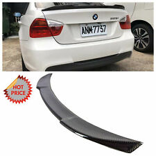 BMW 06-12 CS STYLE REAL CARBON FIBER TRUNK SPOILER FOR ALL E90 SEDAN *US SELLER*