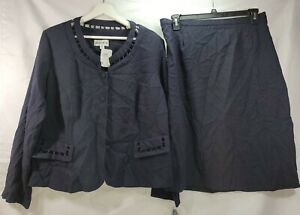 Danny & Nicole Top And Skirt Set Fancy Cute Size 18W