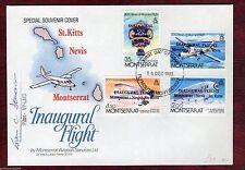 Elizabeth II (1952-Now) Used Montserratian Stamps