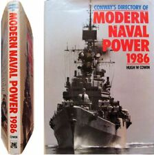 Conway directory modern naval power 1986 Hugh Cowin marine warship missiles guns