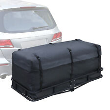 Waterproof Hitch Carrier Cargo Bag with 6 Straps Traveling Bag for Car SUV