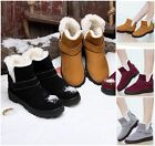Winter Womens Lace Up Warm Thicken Shoes Ankle Snow Boots Martin Casual Boots
