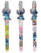 Disney Lilo And Stitch Gift set of 3 Pens with metal plate