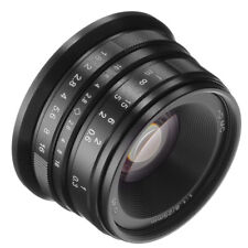 25mm F/1.8 manuelle fixé lentille Pour APS-C Canon EOS M EF-M Mont M100 M5 M6 M3