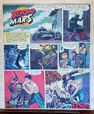 Beyond Mars by Jack Williamson - scarce full tab Sunday comic page Apr. 20, 1952