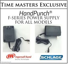 Schlage Biometric HandPunch Power Supply for all F Series Time Clocks ONLY $33!