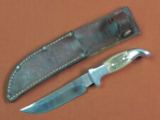 Vintage US Custom Hand Made R.H. RUANA 1983-84 stamp Bowie Hunting Knife