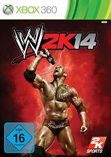 WWE 2K14 (Microsoft Xbox 360, 2013, DVD-Box)