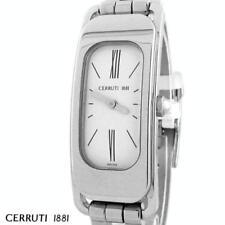 CERRUTI LADIES C WAVE SWISS QUARTZ STAINLESS WATCH NEW CT61202X103032 WHITE