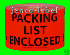 HE3501R, 500 3x5 Packing List Enclosed Label/Sticker