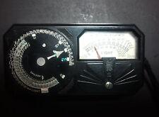Atq Weston Model 650 Universal Photronic Light Exposure Meter 1930's Working