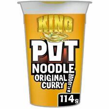 Pot Noodle King Original Curry 114G