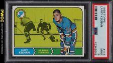 1968 Topps Hockey Larry Keenan #115 PSA 9 MINT (PWCC)