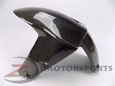 2007-2009 Z1000 Front Tire Fender Mud Guard Cover Fairing Cowl 100% Carbon Fiber