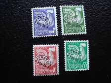 FRANCE - timbre yvert et tellier preoblitere n° 119 a 122 n* (C5) stamp french