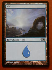 Carta Magic Isla. Tierra básica-Isla