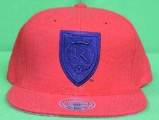 Mitchell & Ness Mens MLS Real Salt Lake RSL Snapback Hat Cap New One Size