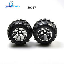 50017 Rubber Wheels Complete Set High Speed Wheel For HSP1/5 Scale Monster Truck