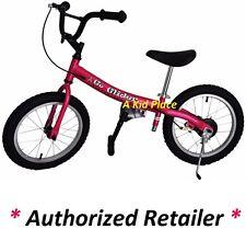Glide Bikes Go Glider 16 inch Kids Learning Balance Run Bike PINK GG-16A-P - NEW