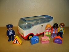 PLAYMOBIL 123 SERIES BUS 6773 Complete (1 2 3,Coach)